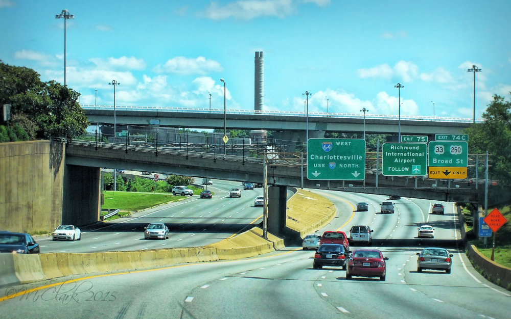 I-95 in Richmond, Virginia