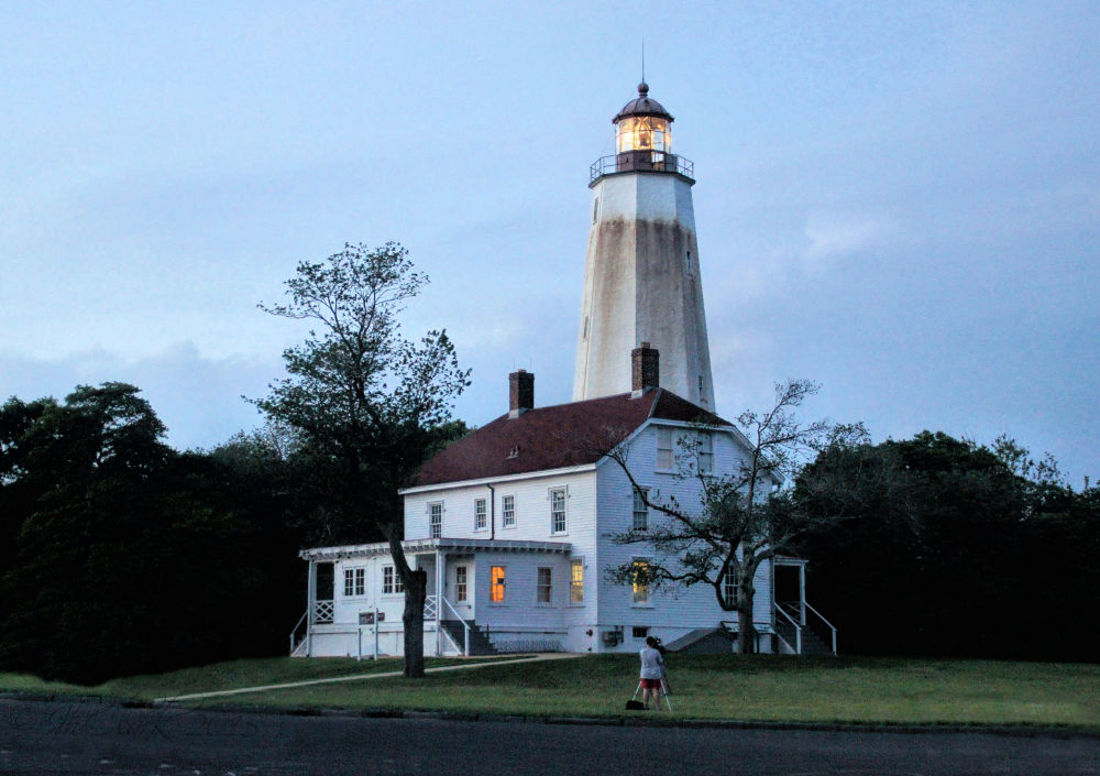 Sandy Hook Light...