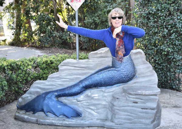 The mermaid...
