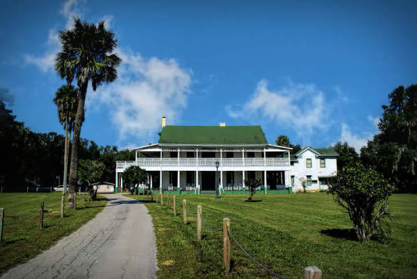 The Chinsegut Hill Manor House...