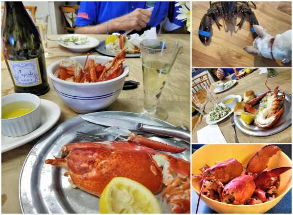 Yummy anniversary dinner...