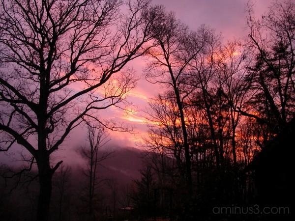November's Sunset