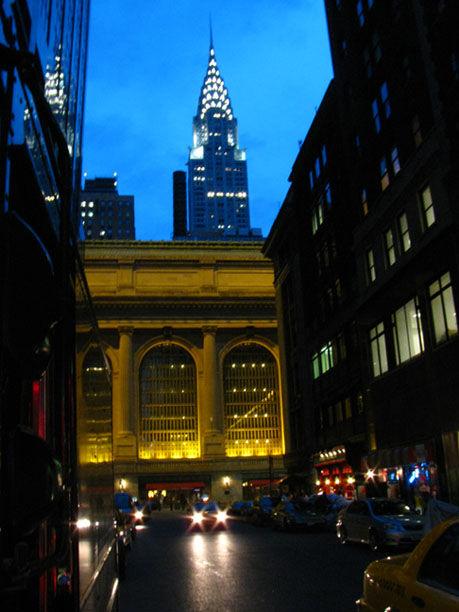 Evening moods of Manhattan