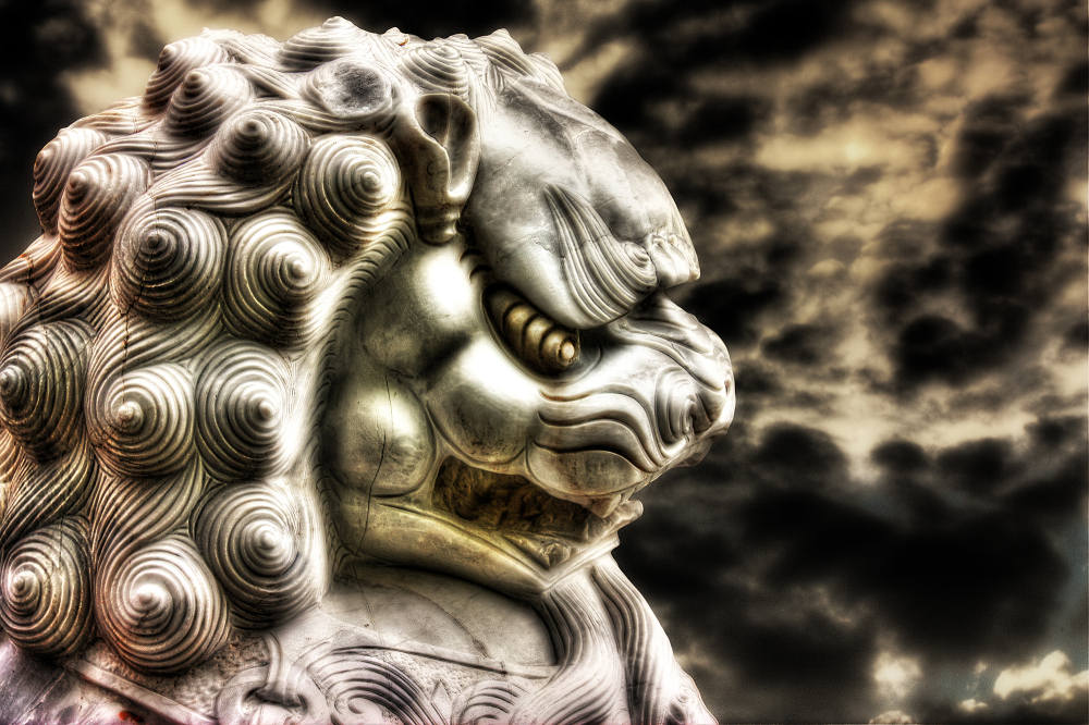 Lion chinois