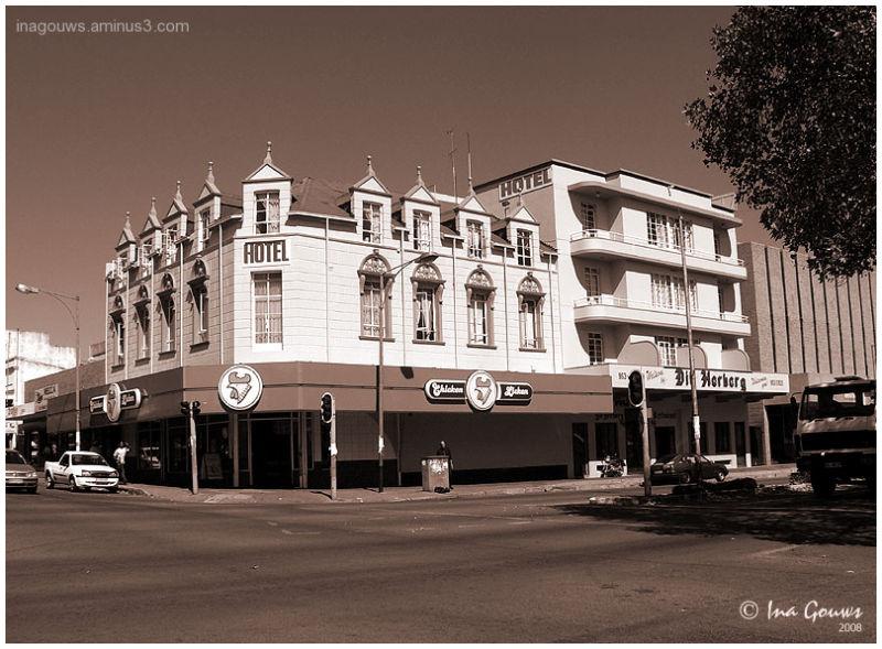 The Herberg Hotel in Krugersdorp