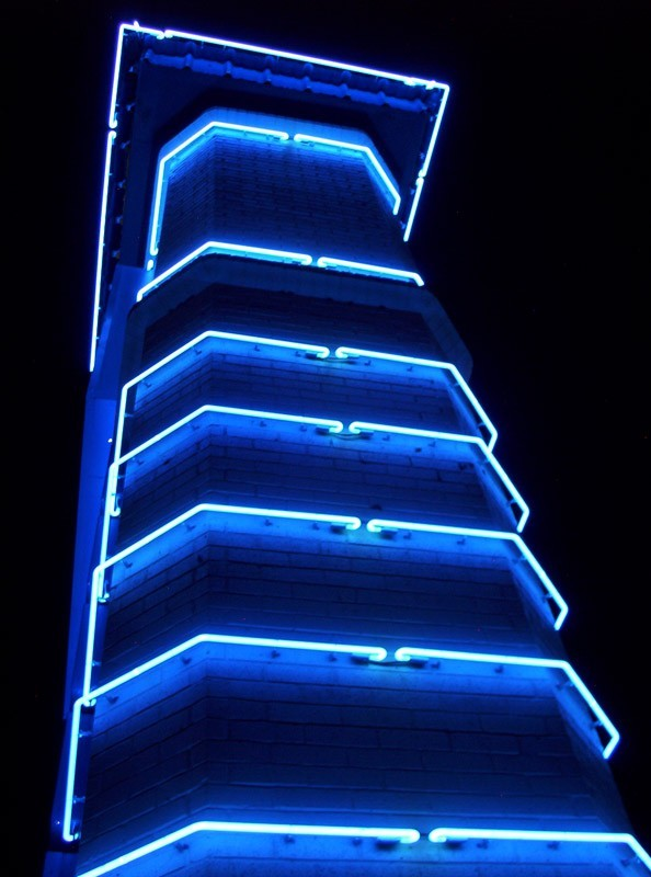 neon tower