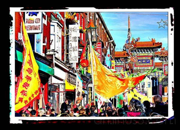 Chinese New Year Liverpool 2008