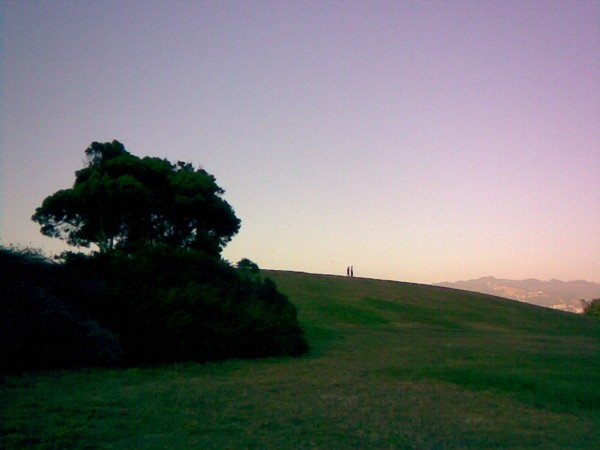 Kite Hill, Berkeley Marina.