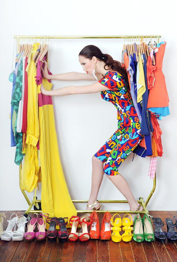Meagan Cignoli shoots Spring 2010 fashions