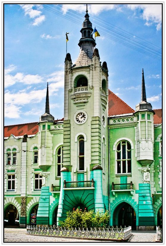 Mukachevo Town Hall, Ukraine