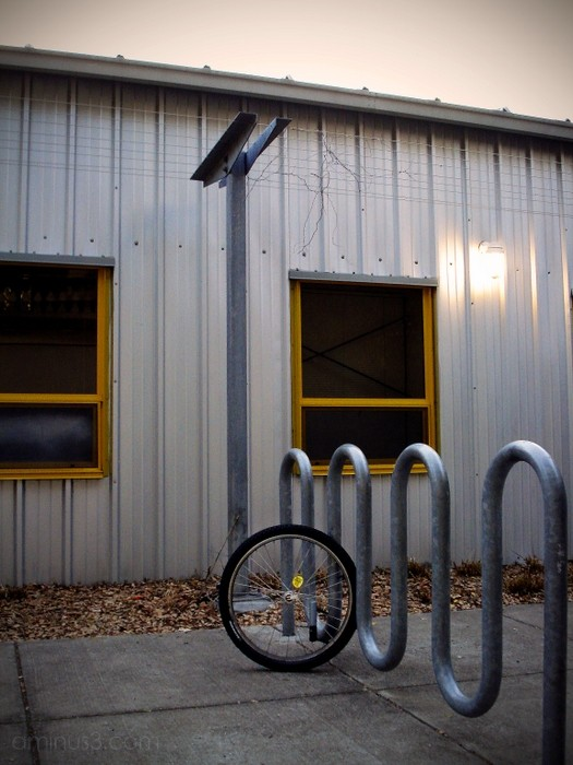 stolen bike wheel racks