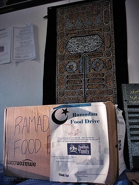 religion ramadan food drive