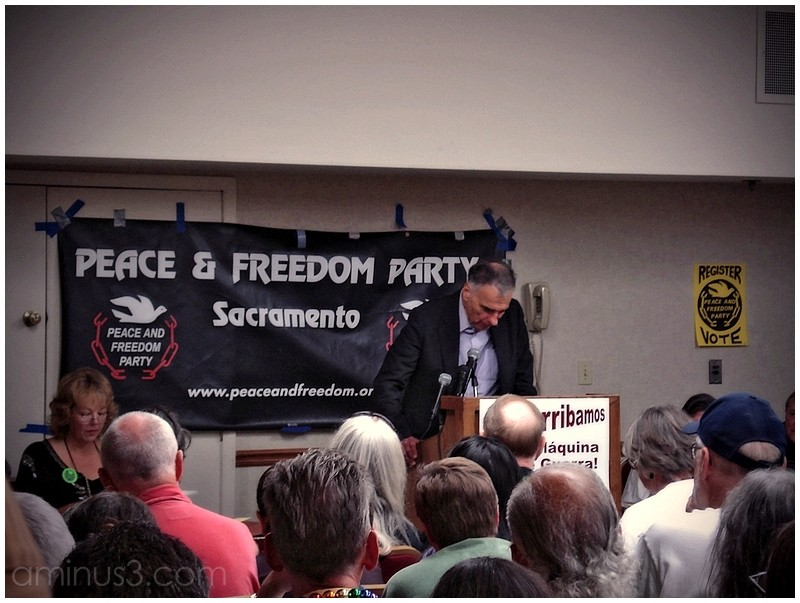ralph nader peace freedom party election