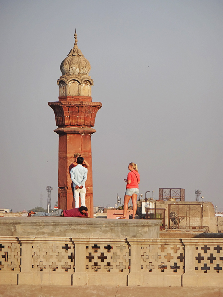 old delhi tourists
