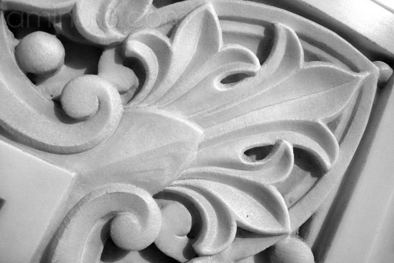 Detail in the Marble ...