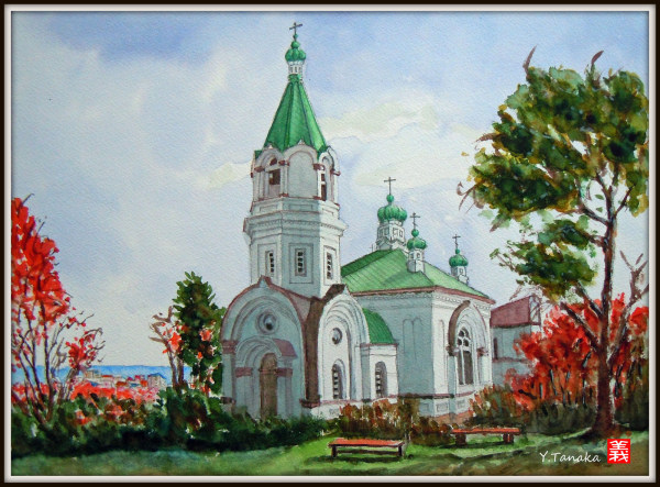 Haristos Orthodox church at Hakodate, Hokkaido