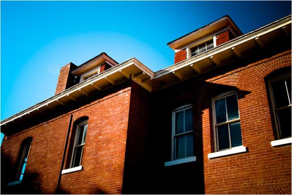 brick building presidio california