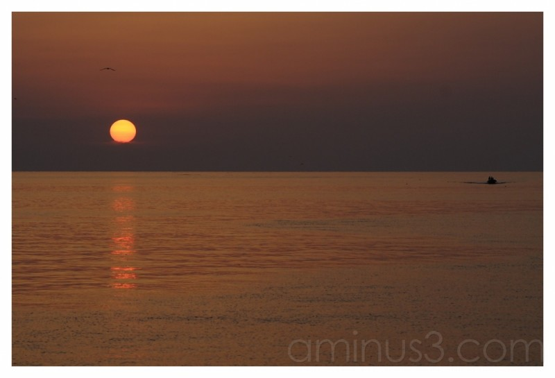 sunrise to Sottomarina