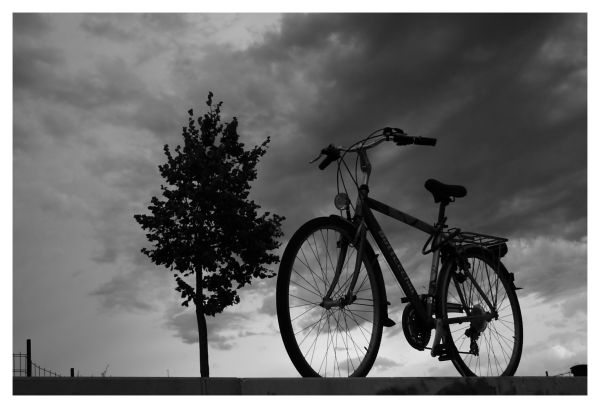 bike and cloud