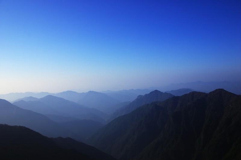 The Kii Mountains, 8:33 a.m.