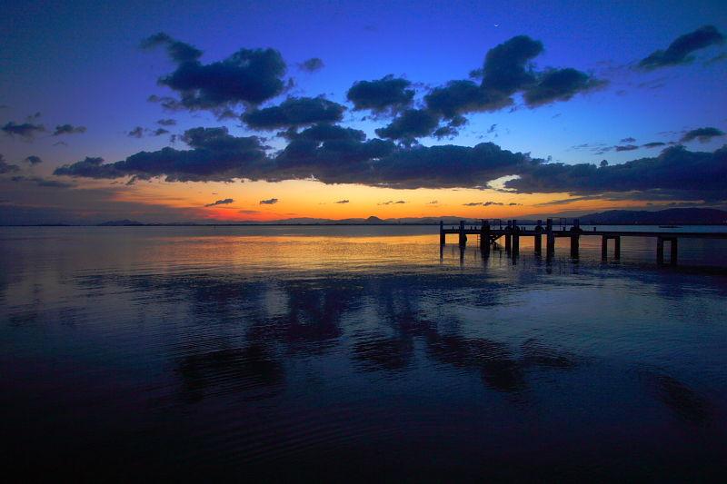 Lake Biwa, 5:36 a.m.