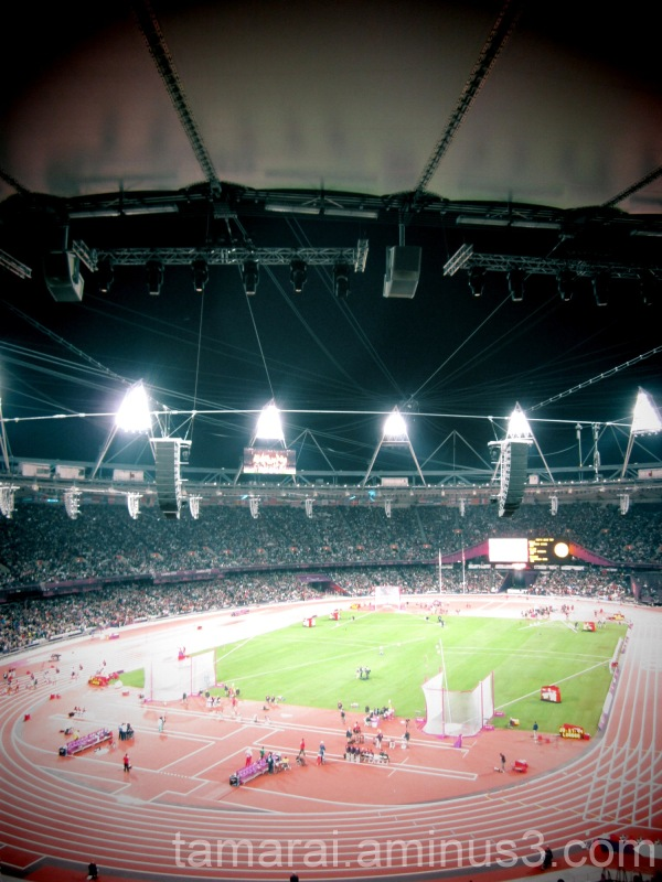 Olympic Stadium Lights