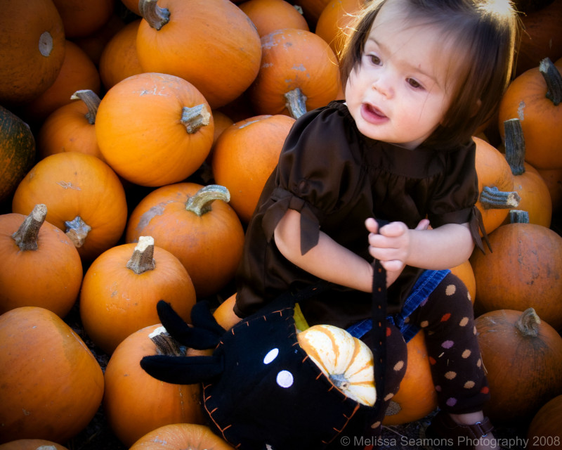 Mya in the Pumpkins