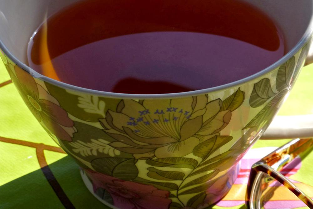 My cup of tea.