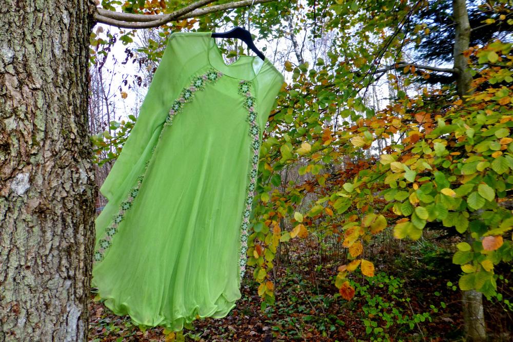 The green dress.