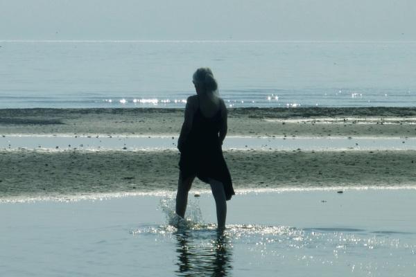In the sea.