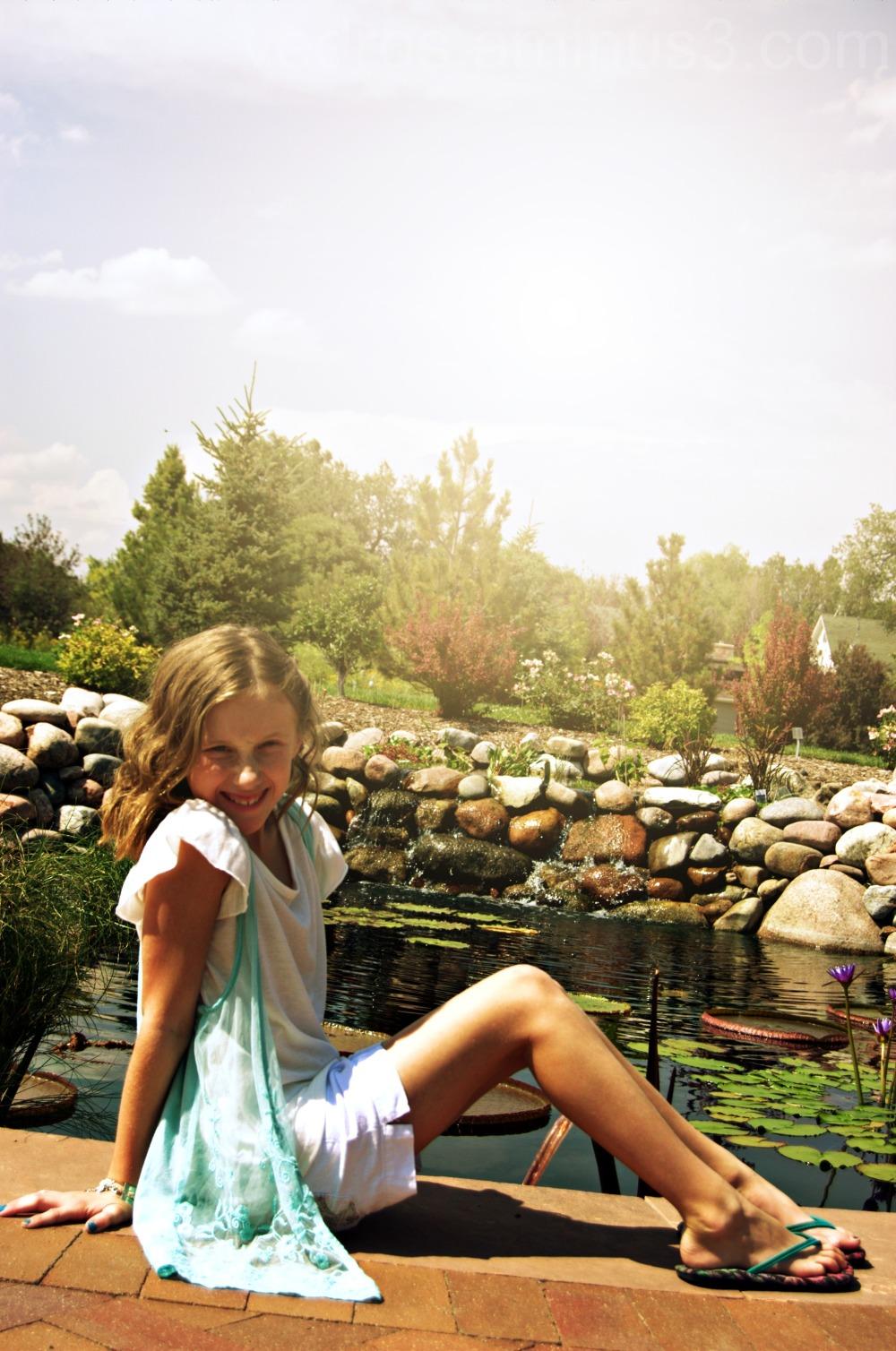 niece, hudson gardens
