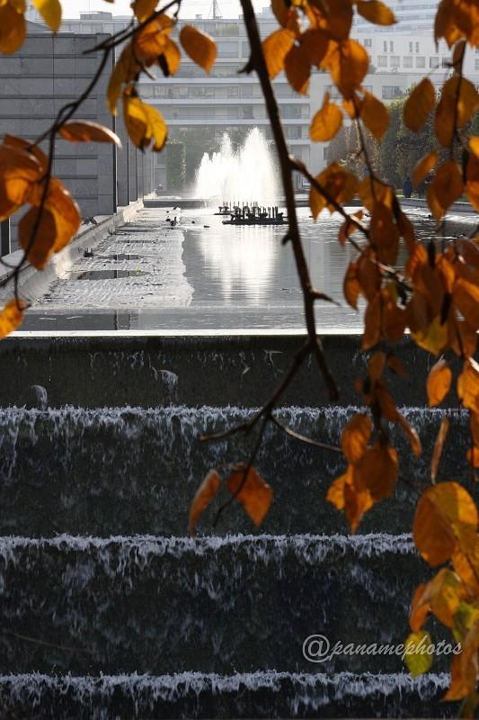 Fontaine du parc André Citroen