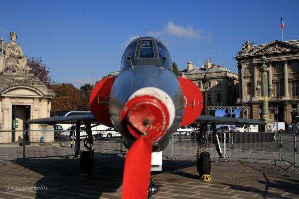 Mirage sur la place de la Concorde