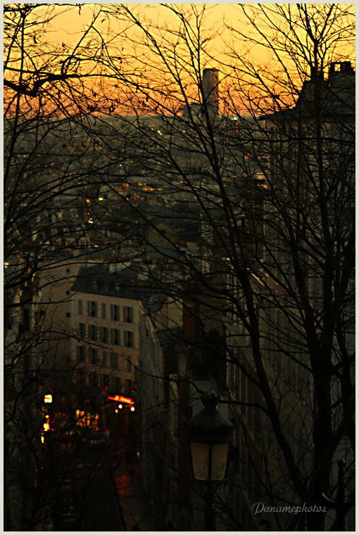 Le quartier de montmartre
