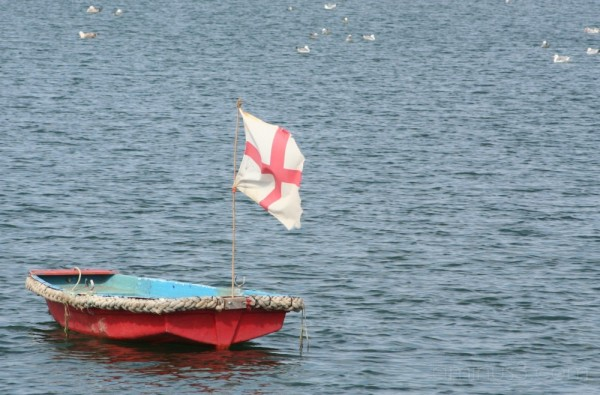 A Lonely Boat at Lindisfarne