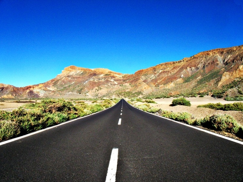Landscape of Tenerife Canaries island