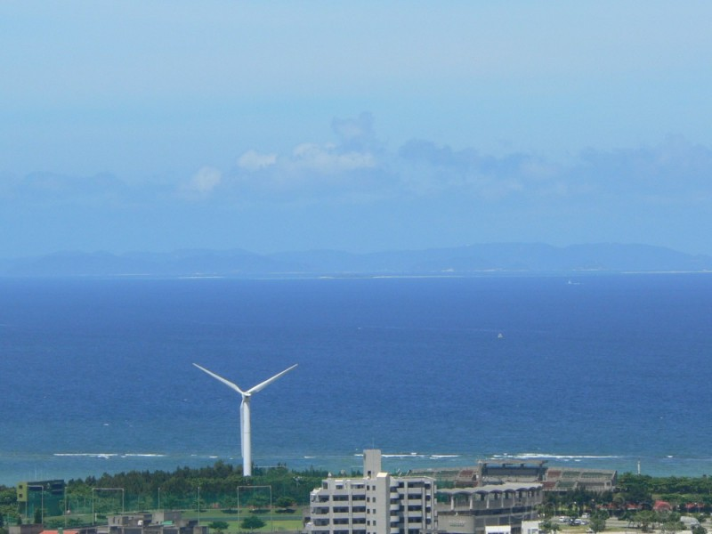 Wind turbine, Okinawa