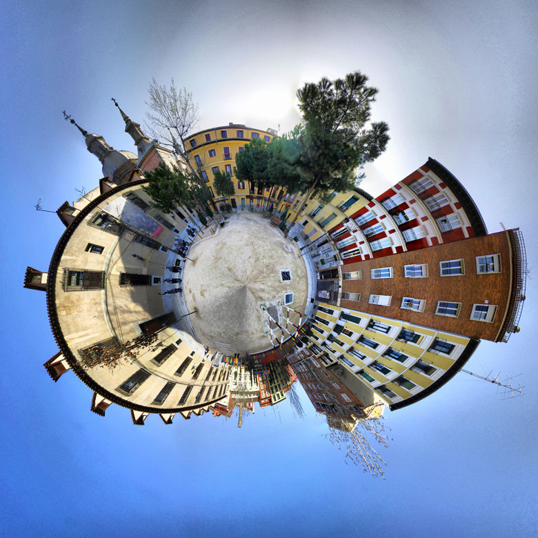 Microplaneta PLAZA DE LAS COMENDADORAS (MADRID)