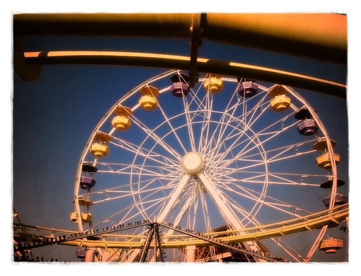 pacific wheel at the santa monica pier
