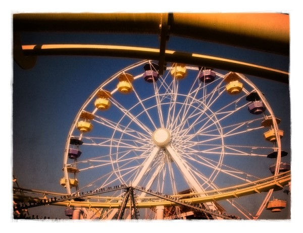 pacific wheel at the santa monica pier