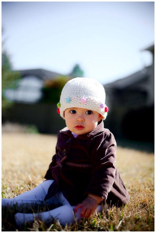 Estella and her hat