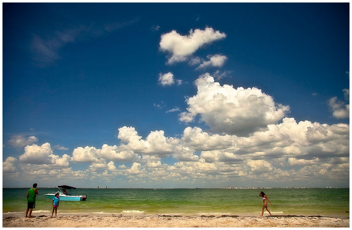 lighthouse park beach, sanibel