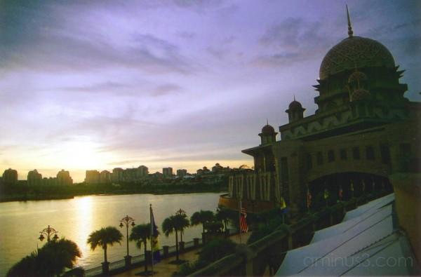 Putra Mosque Putrajaya Kuala Lumpur Malaysia