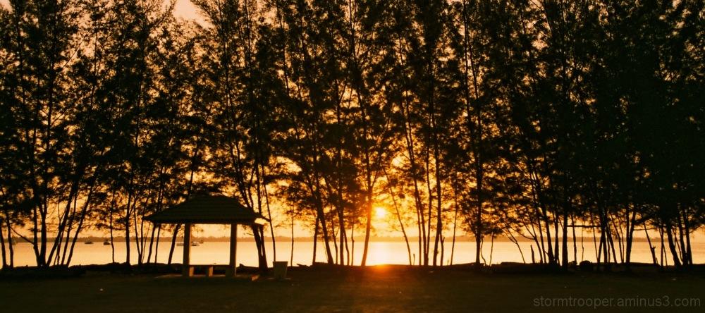 Sunset Beach Brunei Darussalam