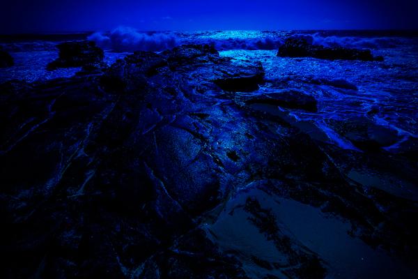 moonlit lava