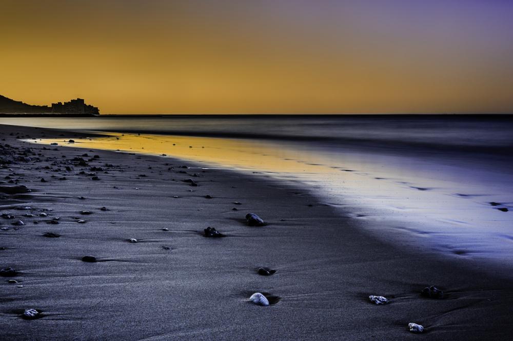 the glow of dawn