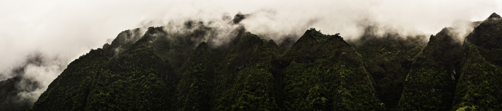 the ko'olau range