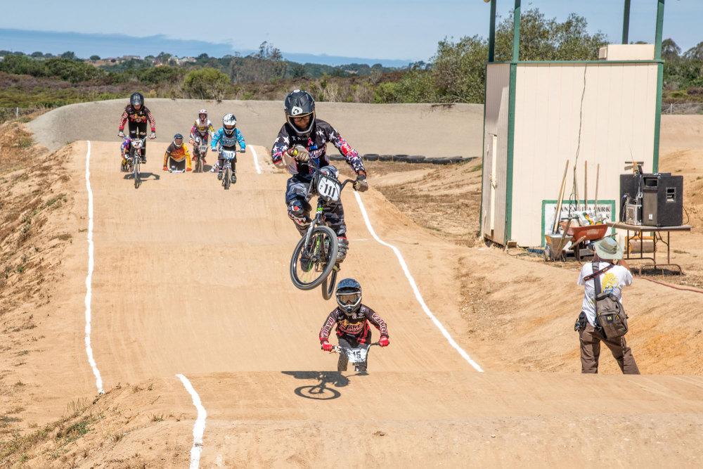 BMX State Race at Manzanita BMX Track Prunedale, C