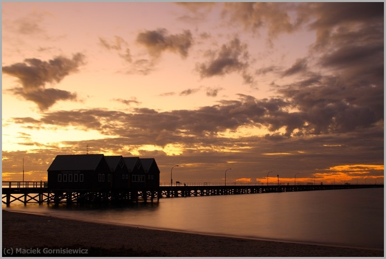 Sunset at Busselton Jetty