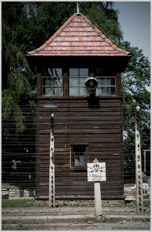 Guard Tower at Auschwitz